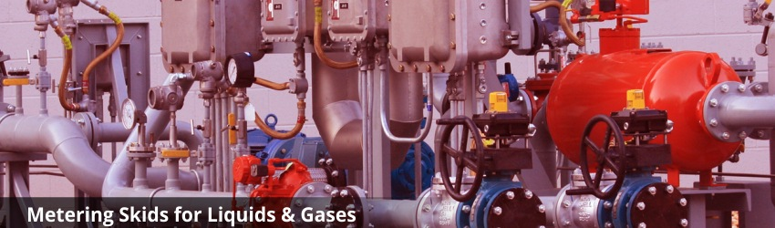 Liquid, Oil and Gas Metering Skid Manufacturer & Supplier in