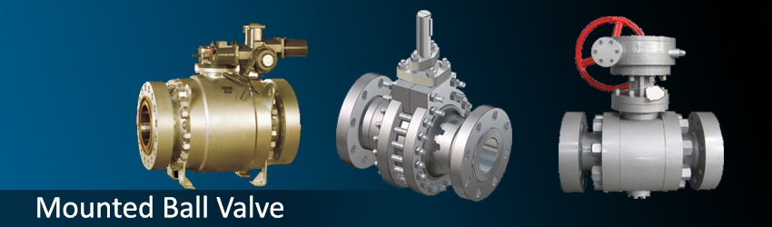 Flanged Trunnion Mounted Ball Valves